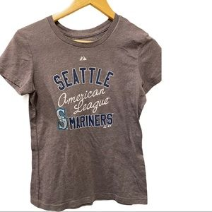 🍋Seattle Marines MLB majestic baseball fitted top